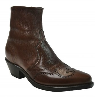 Abilene Men AB-6443 Wingtip Side Zip