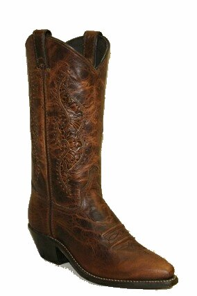 Abilene Women AB-9141 Tooled Inlay
