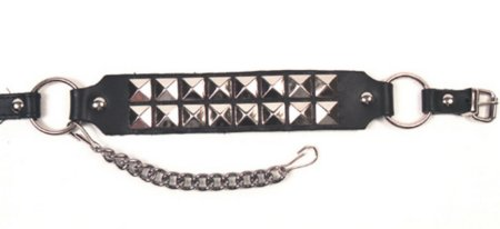 Boot Straps 732 Silver Studs