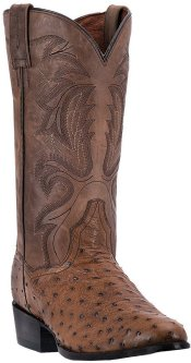 Dan Post Men DP2323 Ostrich Boots