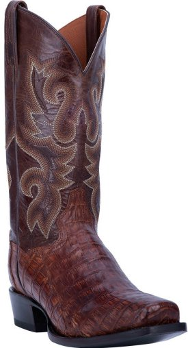 Dan Post Men DP3074 Bayou Caiman Alligator Boots