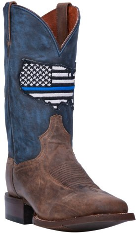 Dan Post Men DP4515 Thin Blue Line Boots