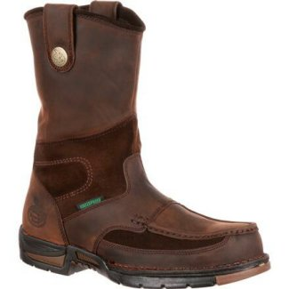 Georgia Boot Men G4603 Waterproof Wellington-ST
