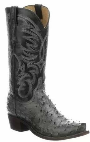Lucchese Men's Hugo Full Quill Ostrich N1195.73