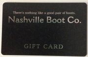 Nashville Boot Co.***Gift Card***
