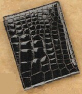 Harwell 0801-ABL Alligator Wallet