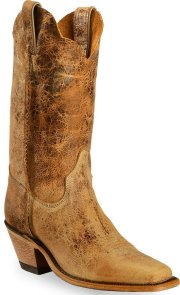 Justin Women's BRL122 Tan Road