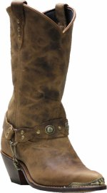 Sage Women SA-4528 Distressed Cowhide
