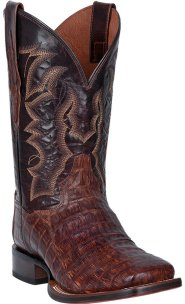 Dan Post Men DP4879 Kingsly Caiman Alligator Boots