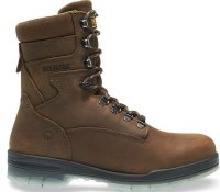 "Wolverine Men W03295 DURASHOCKS WATERPROOF INSULATED STEEL-TOE EH 8"" WORK BOOT"