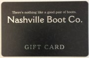 Boot Store Gift Card